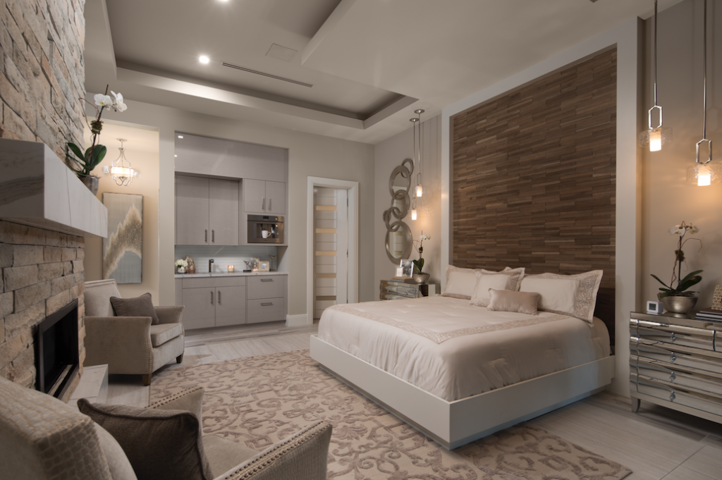 Master suite in The New American Home 2018