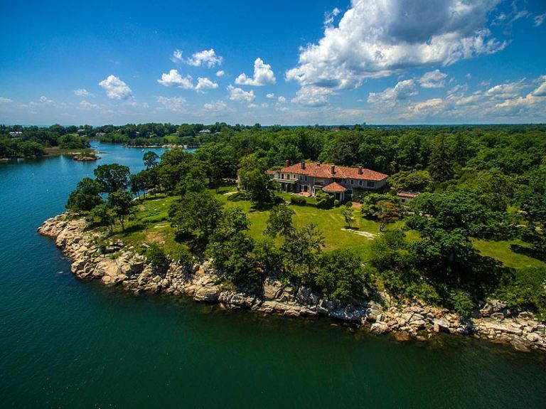 William Ziegler's Great Island estate in Darien, CT