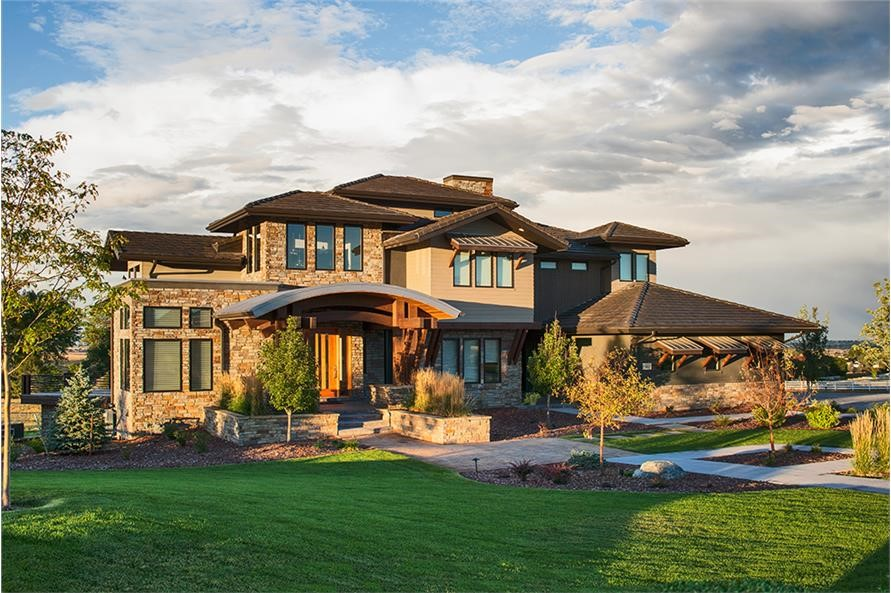5-bedroom, 5.5-bath Contemporary home with 5170 sq. ft. in 2 stories