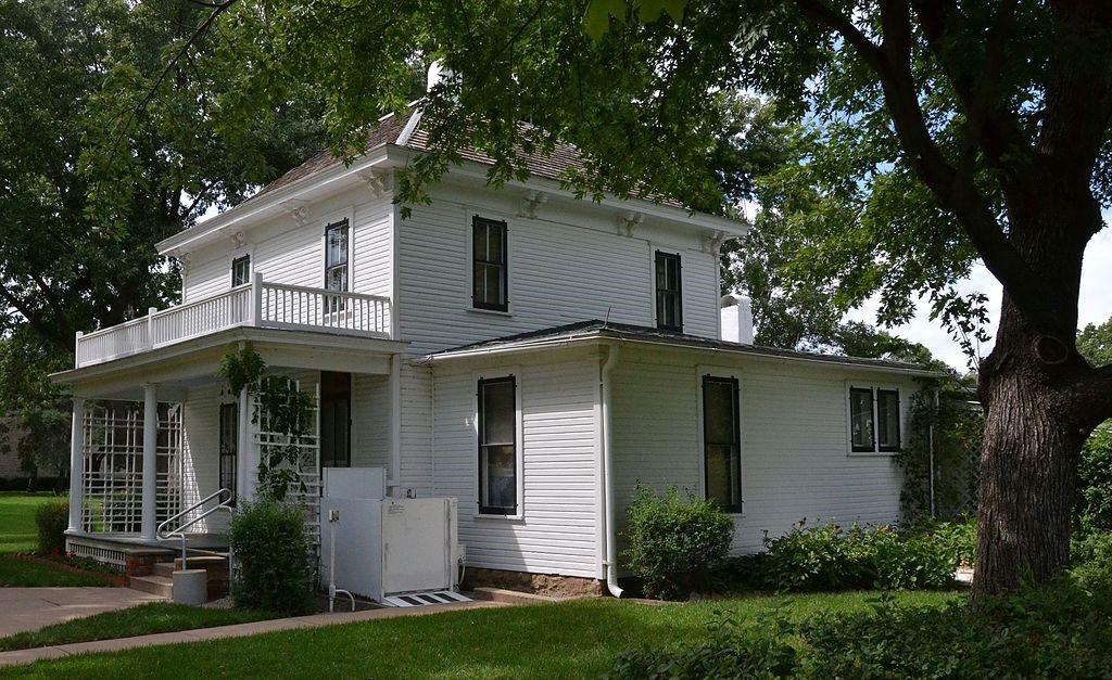 President Dwight D. Eisenhower's boyhood home in Abilene, Kansas