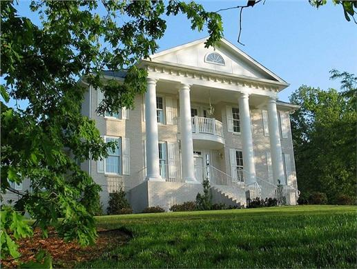 Southern House Plans With Porches And Columns