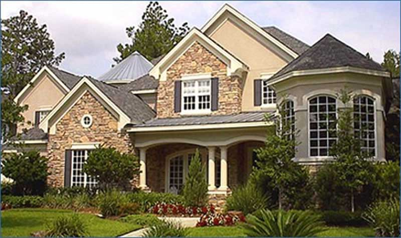Luxury Traditional Home with Country Influences