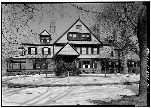 View of Sagamore Hill from the south end