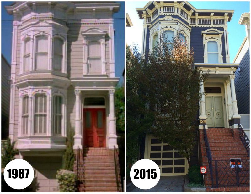 "Victorian house featured on TV's ""Full House"""