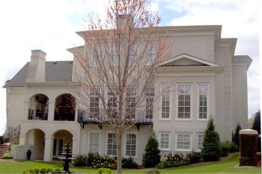 Georgian style House Plan #106-1297