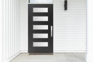 One-piece screwless exterior door frame from Trmiline
