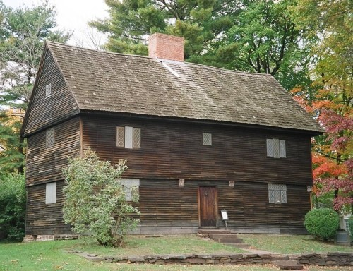 The Buttolph-Williams House in Wethersfield, CT  one of the oldest surviving English Colonial Homes in the country