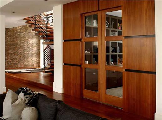Bold modern interior doors