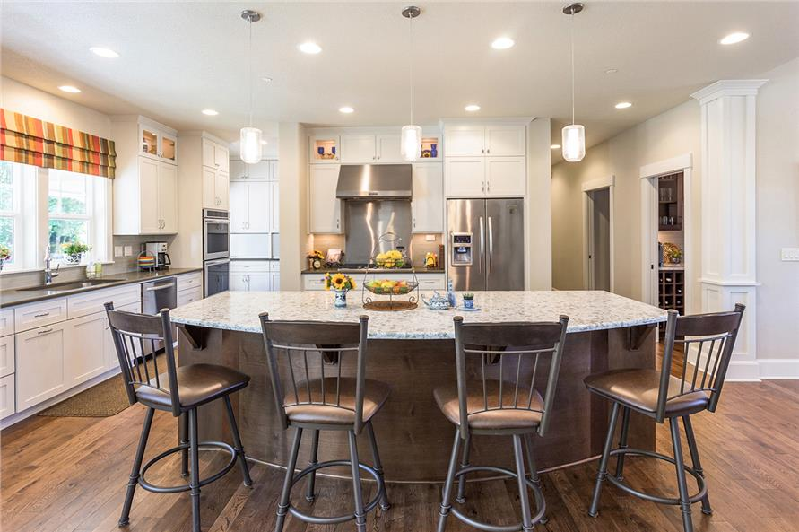 Heres An Amazing Modern Kitchen Where Empty Nesters Can Indulge Their Inner Rachael Ray Or Bobby Flay Its Featured In A 3 Bedroom 2 1 Bath Craftsman