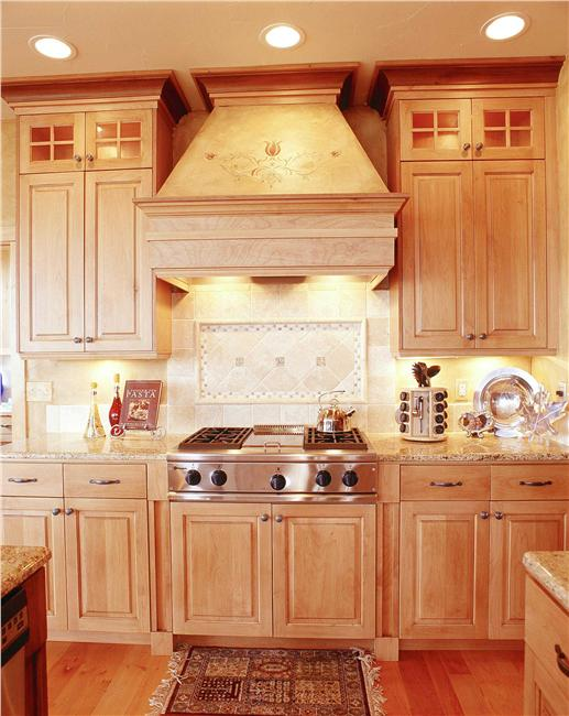kitchen with country look and feel