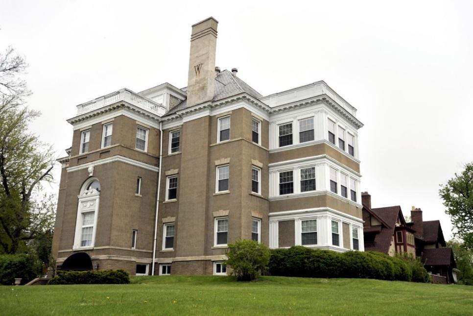 Joseph Greenhut Mansion in Peoria, IL. today