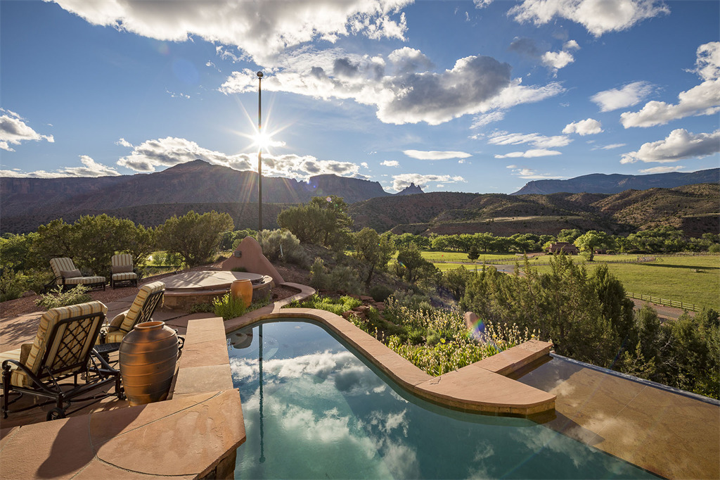Relaxing pool in West Creek Ranch