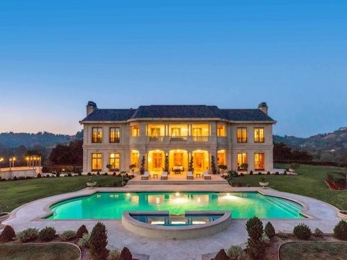 Newly remodeled Wallingford Estate with huge pool, which runs the width of the mansion