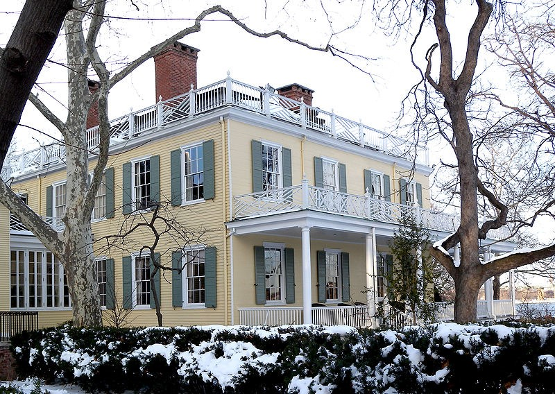 Gracie Mansion, traditionally home of the mayor of New York and designed by John McComb
