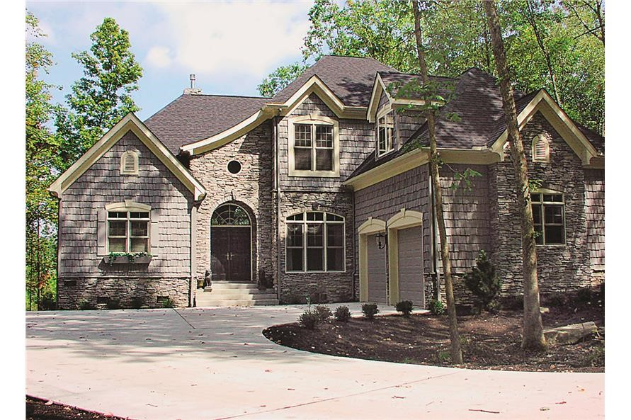 2-story, 3-bedroom, 3.5-bath Country home with 2443 sq. ft.