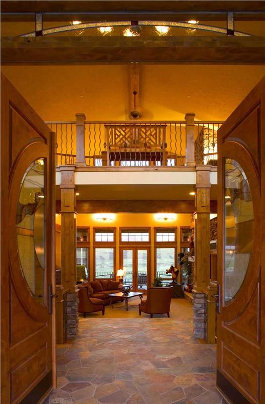 Interior - living area.