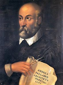 Architect Andrea Palladio, who had a great influence on early American Architecture
