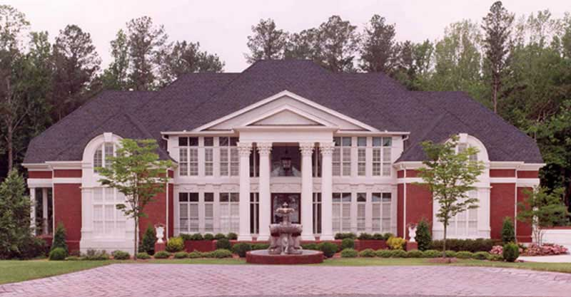 Colonial style house plan #106-1223