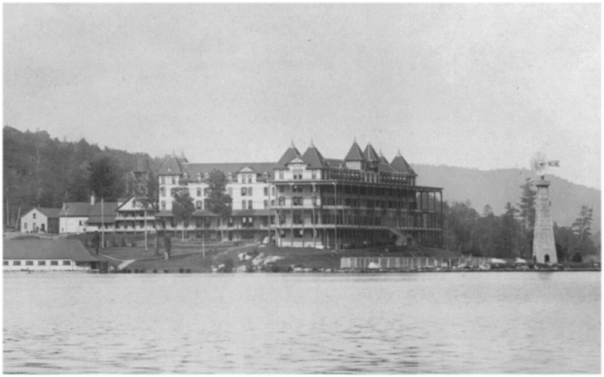 Prospect House, a luxury hotel on Blue Mountain Lake in the Adirondacks