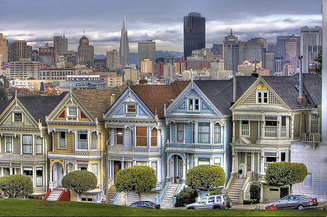San Francisco's Painted Ladies