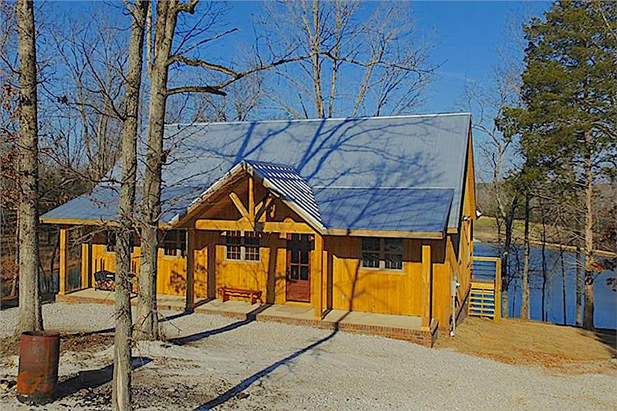 Charming 2-story, 2-bedroom, 2-bath barn-inspired cabin with 2033 sq. ft. of living space