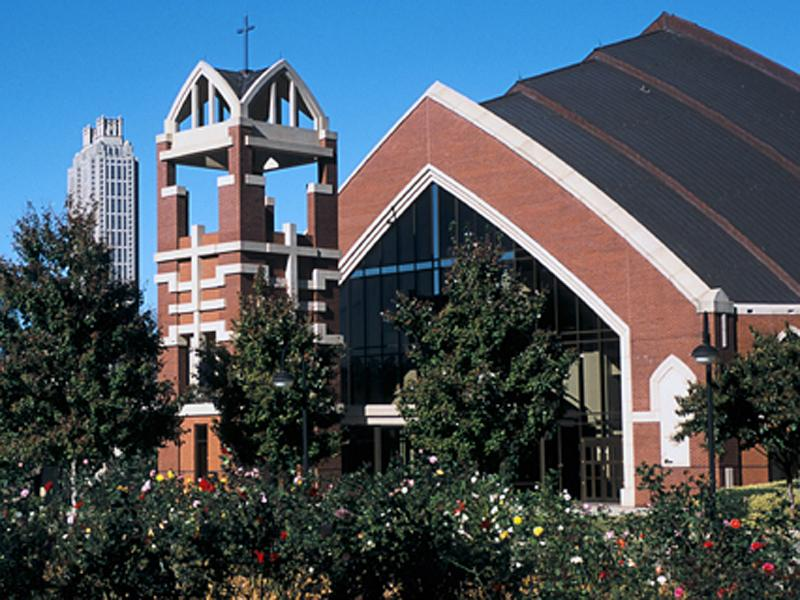 New Horizon Sanctuary, Ebenezer Baptist Church in Atlanta, Georgai