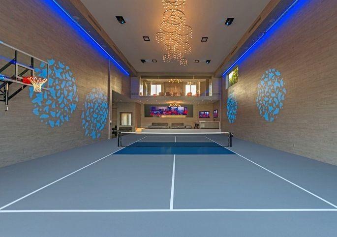 Sports lounge inside Wallingfords recreational facility
