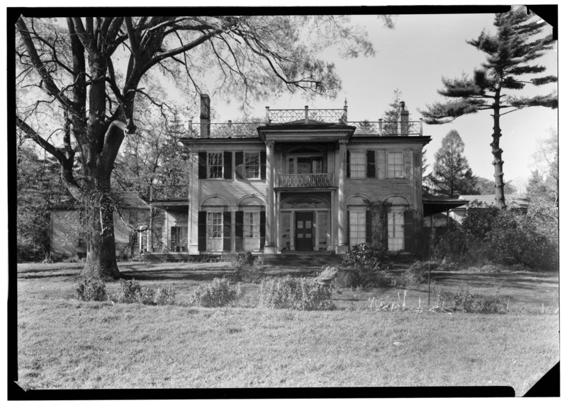 William de Wolf House designed by Russel Warren and demolished in 1944