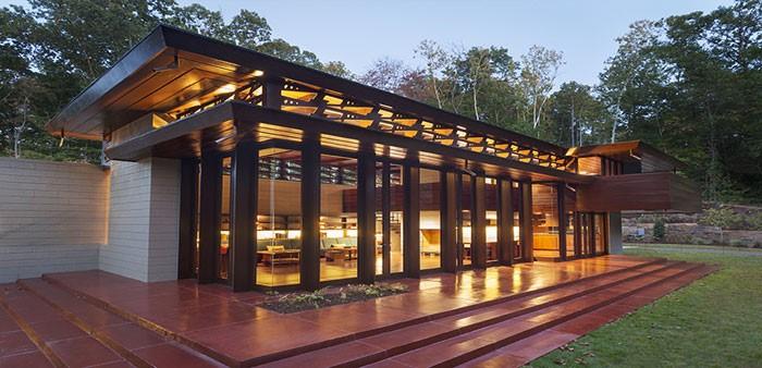 Frank Lloyd Wrights Bachman Wilson House in Millstone, NJ