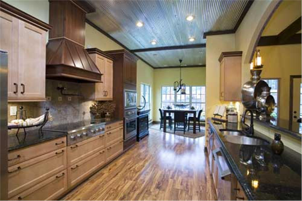 Plenty of counter space in this open concept super kitchen.