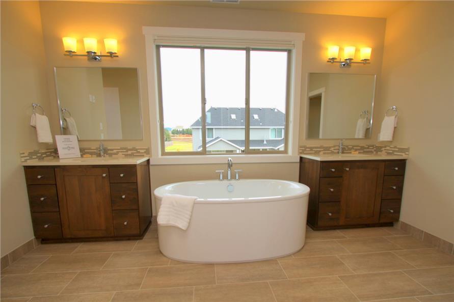Bathroom in House Plan #108-1791
