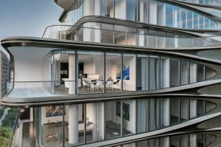 Apartments at 520 West 28th Street, designed by Zaha Hadid