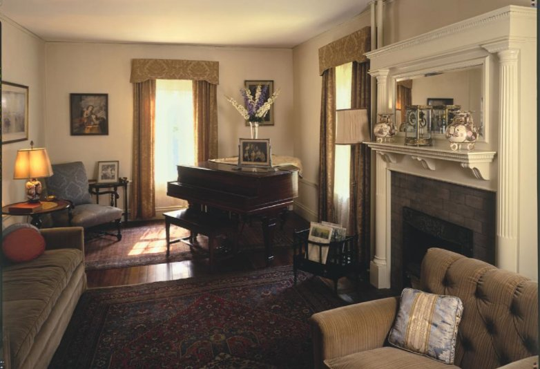 Parlor/living room in JFK Beals Street house