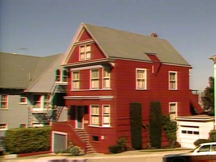 "House used for first few seasons of TV show ""Too Close for Comfort"""