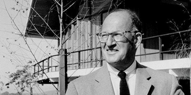 Residential developer Joseph Eichler, famous for mid-century modern homes in Califorina