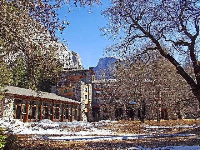 Ahwahnee Hotel at Yosemite National Park