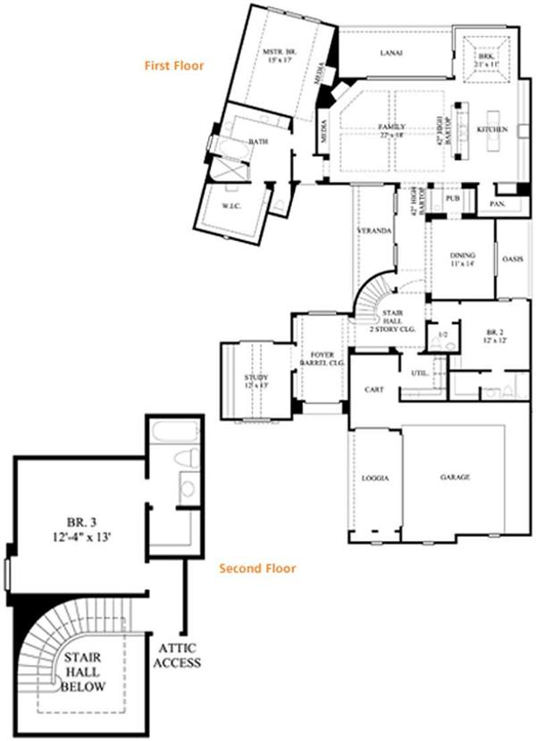 Spanish colonial home plans texas for Spanish colonial floor plans