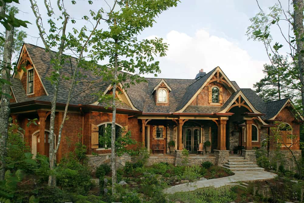 3-Bedroom, 2587 Sq Ft Arts and Crafts Ranch Plan with Open Floor Plan #198-1005