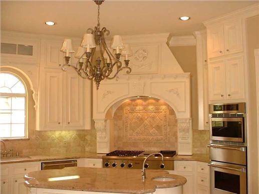 21st century kitchen with a kitchen island