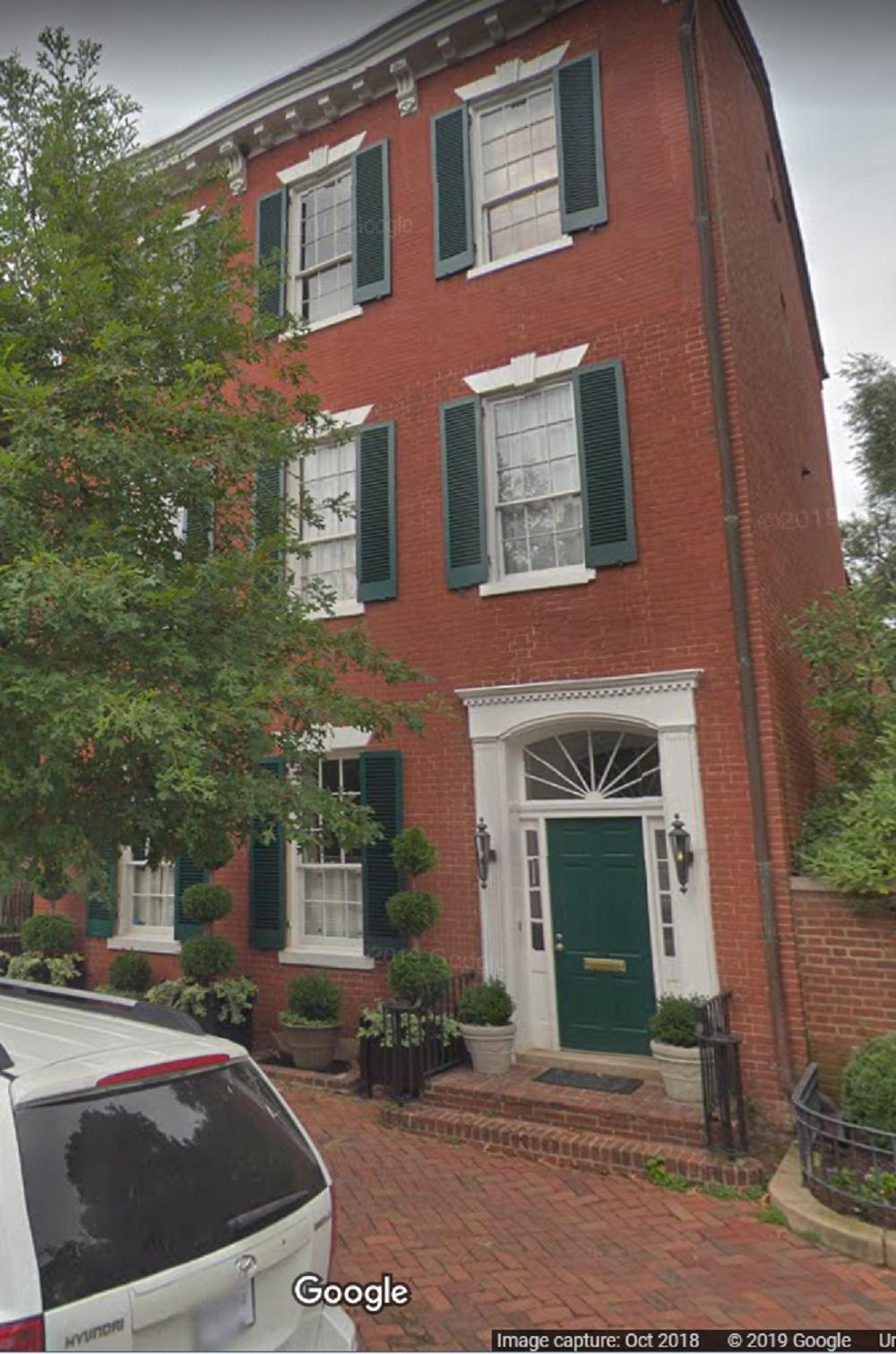 JFK house on N Street in Georgetown, D.C.