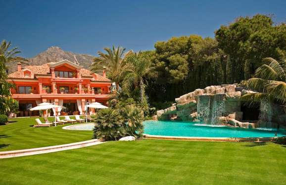 La Casa Loriana in Marbella, Spain