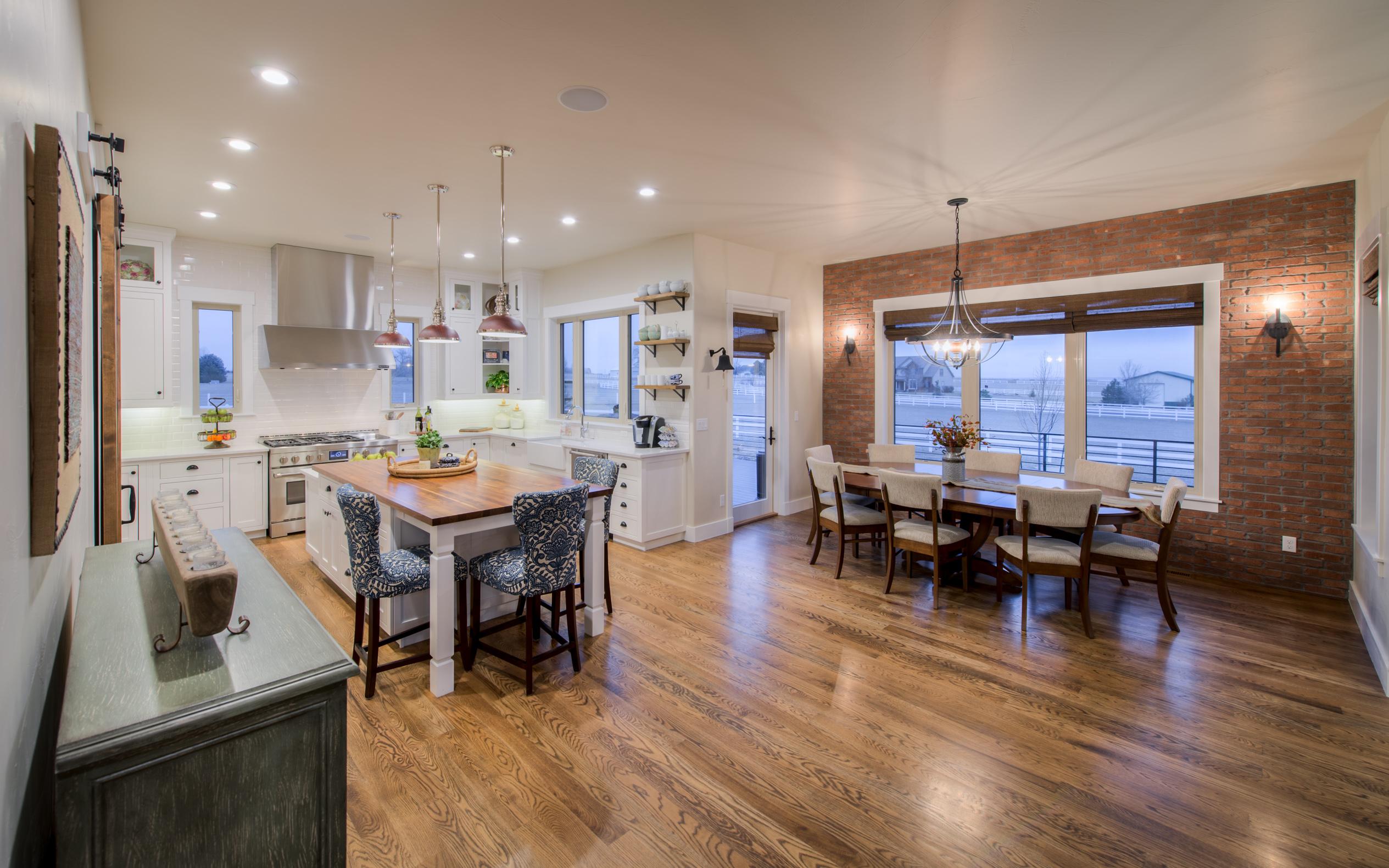 Spacious kitchen in House Plan #161-1072