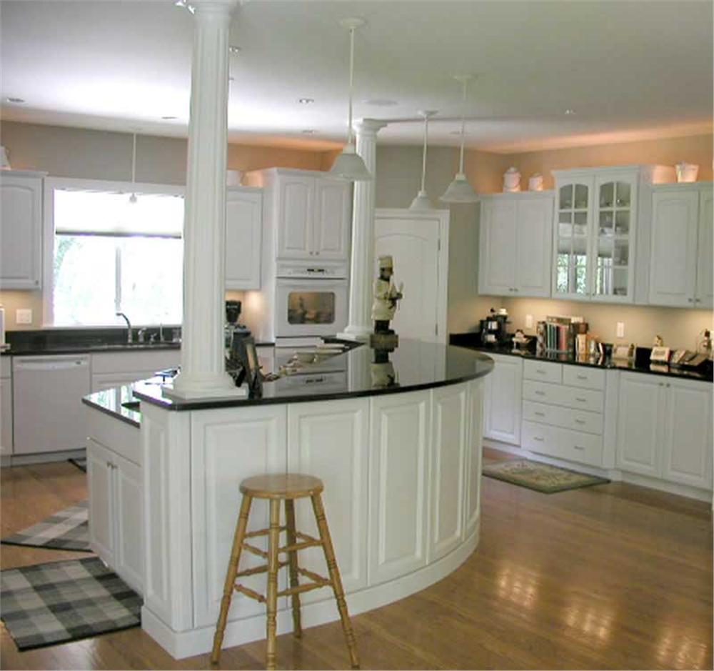 Open kitchen in House Plan #101-1126