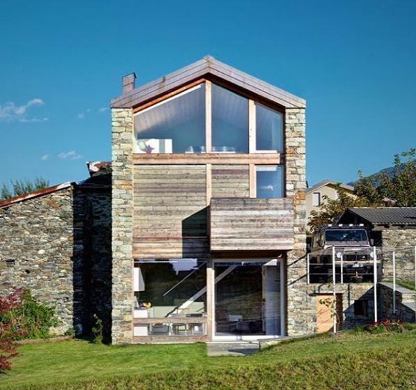 Example of Inhabitots' weblog landscape design work from Instagram