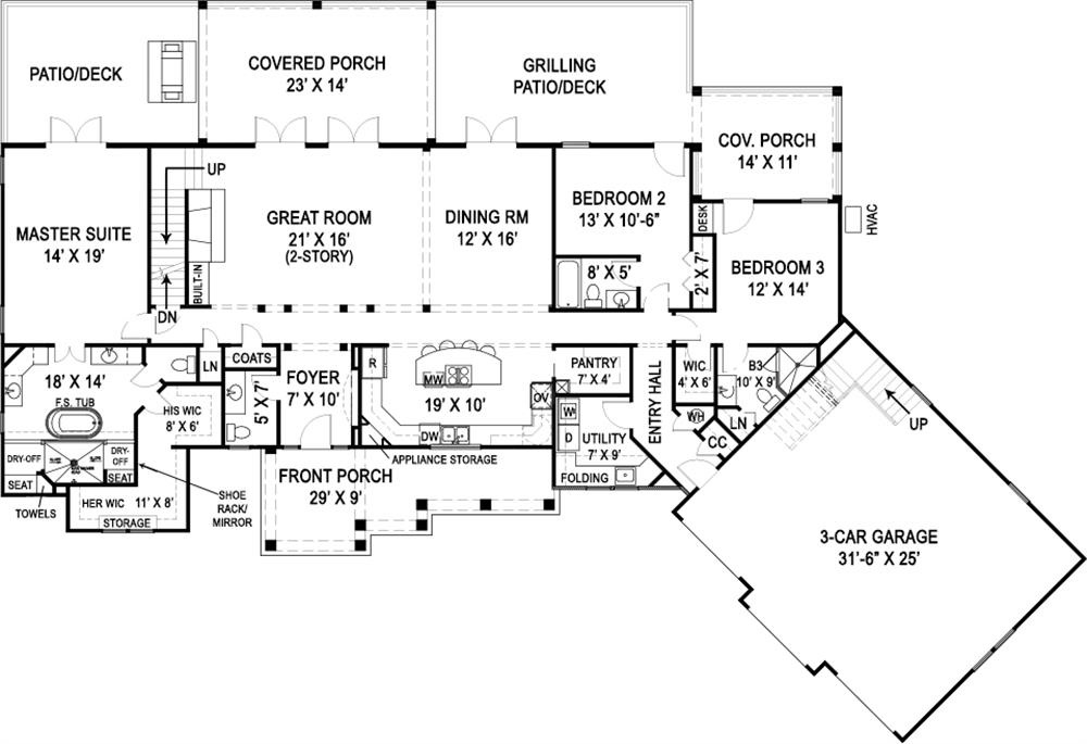 Country Ranch House Plans: Rustic Estate Style without Stairs on house plans with no garage, ranch house designs, duplex house plans with garage, ranch homes with side garage, ranch house plans no dining room, ranch house blueprints, living room in modern car garage, open house plans with garage, rancher house plans side garage, ranch home with no garage, basement garage, bungalow house plans with garage, ranch house cabin,