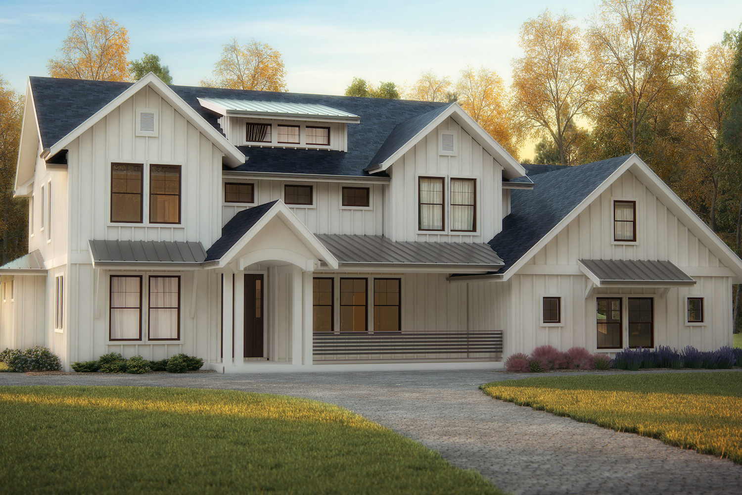 Transitional style house plans a mix of the classic and for House style examples