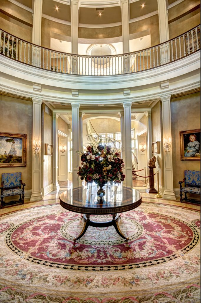 Foyer in Chelster Hall, Oakville, Ontario, Canada
