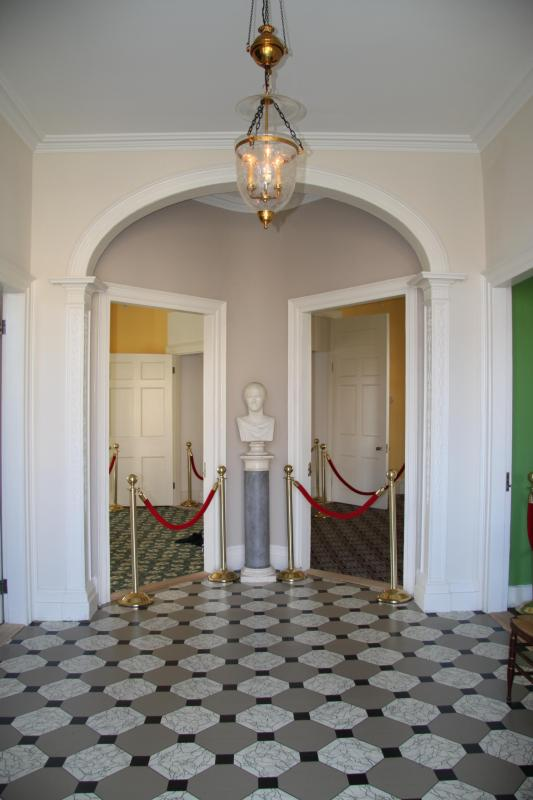 Foyer at the Hamilton Grange National Memorial