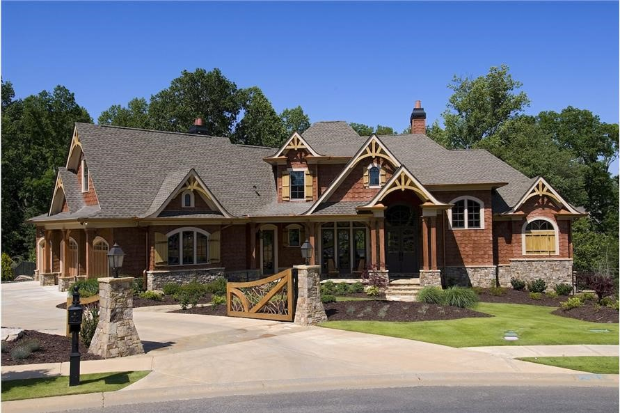 2-story Cottage style home comes with six bedrooms  4 of them suites