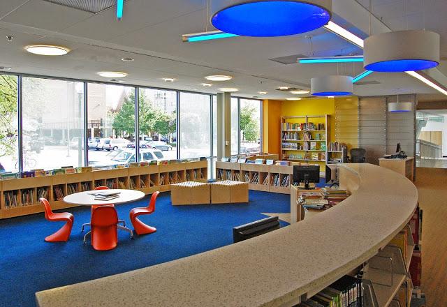 Children's area of Watha T. Daniel/Shaw Library, Washington, DC